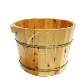 Chậu-ngâm-chân gỗ-thông